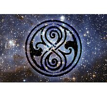 Gallifreyan's Seal of Rassilon Photographic Print