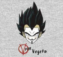 V for Vegeta by RobertKShaw