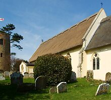 Church of St Andrew, Bramfield, Suffolk by Kawka