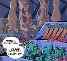 The Not So Innocent Grocery Store (Beware Graphic Content) by Rick  London