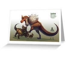 -Tyrantrum- Greeting Card