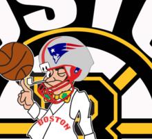 Boston Made OF Champions Sticker