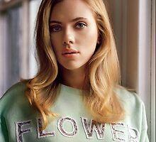 Scarlett Johansson by aerogizz
