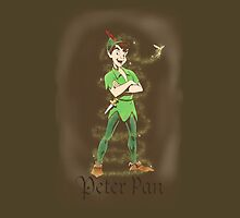 Peter Pan iPad Case by EmmaPopkin