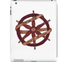 Brand New Ship Wheel Design iPad Case/Skin