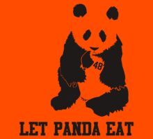 LET PANDA EAT by slugamo