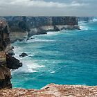 Nullabor cliffs by Ian Fegent