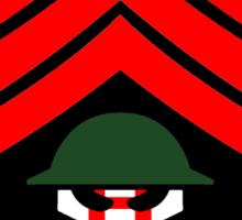 Sgt Hatred Sticker