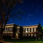 Orion over Evergreen by Richard Bozarth