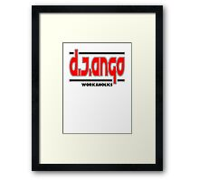DJ Ango Framed Print