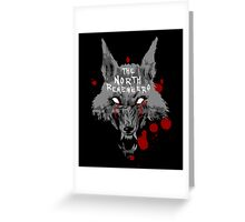 The North Remembers Greeting Card