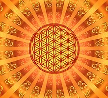 FLOWER OF LIFE - SACRED GEOMETRY - HARMONY & BALANCE by nitty-gritty
