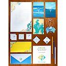 Imagiro Stationery Set by James McKenzie