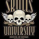 Skulls University 2 by Adamzworld