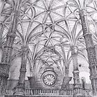 drawing. Jerónimos Monastery by terezadelpilar~ art & architecture