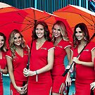 Ferrari Girls | Ferrari Race Day 2014 | Sydney Motor Sport Park by Bill Fonseca