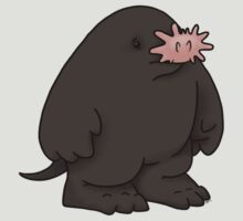 Star Nosed Mole by GardenDragon
