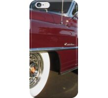 Red Cadillac at palms iPhone Case/Skin
