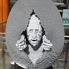 Lego Easter Egg, Nathan Sawaya, Artist, Faberge Big Egg Hunt, New York City by lenspiro