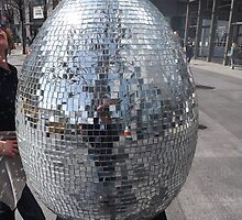 Artistic Easter Egg, Faberge Big Egg Hunt, Columbus Circle, New York City by lenspiro