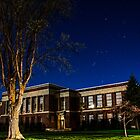Evergreen School Under the Stars by Richard Bozarth