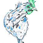 Blue Chicken by drknice