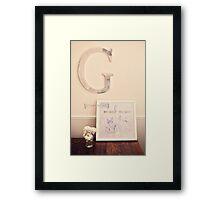 177/365 Framed Print