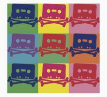 Pop Art Tape and Bones by retrorebirth