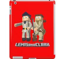 Lewis and Clark - Pixel Art Style iPad Case/Skin