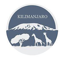 Kilimanjaro (Blue) by thekohakudragon