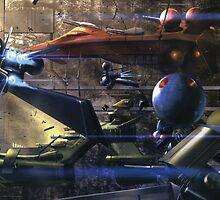 gundam hangar by ducky72
