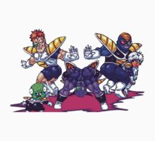 The Evil Ginyu Force by t0tallyrad