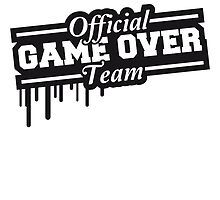 Official Game Over Team Steampel by Style-O-Mat