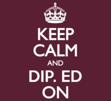 CALM DIP. ED ON by rule30