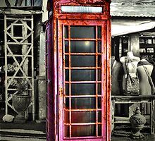 Antique Phone Booth by venny