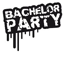 Cool bachelor party stamp design by Style-O-Mat