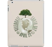 Earth Day April 22 iPad Case/Skin