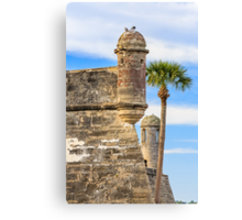 Towers of the Castillo Canvas Print