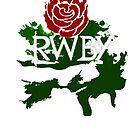 RWBY rose by foggraven