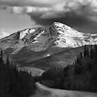 Along the Cassiar Highway b/w by Dyle Warren