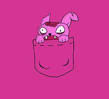 Zombie Rabbit by OneWeirdDude