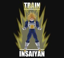 Dragon ball Z Train Insaiyan Trunks by frangiosa