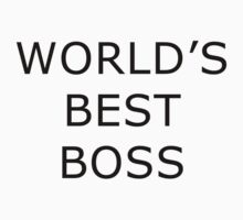 World's Best Boss - The Office by teezie