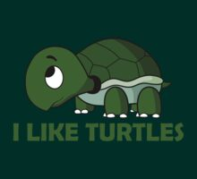 I LIKE TURTLES by teezie
