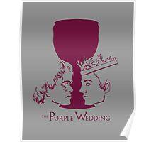 Purple Wedding Poster