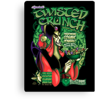 Twisted Crunch! Canvas Print