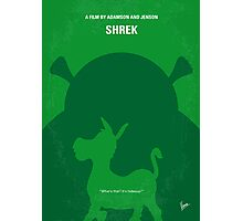 No280 My SHREK minimal movie poster Photographic Print