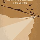 No293 My Fear and loathing Las vegas minimal movie poster by Chungkong