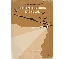 No293 My Fear and loathing Las vegas minimal movie poster Photographic Print