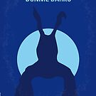 No295 My Donnie Darko minimal movie poster by Chungkong